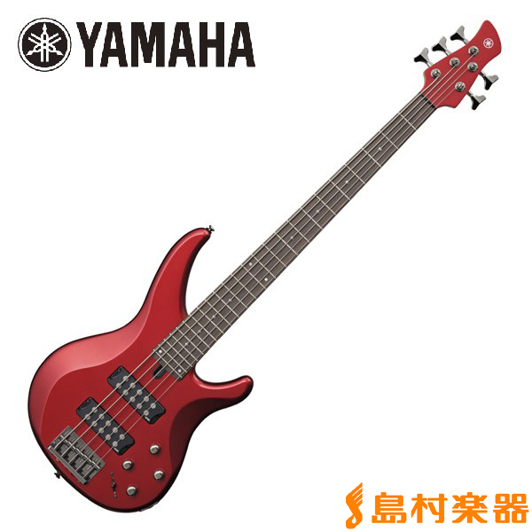 YAMAHA TRBX305 Candy Apple Red 5弦ベース 【ヤマハ】