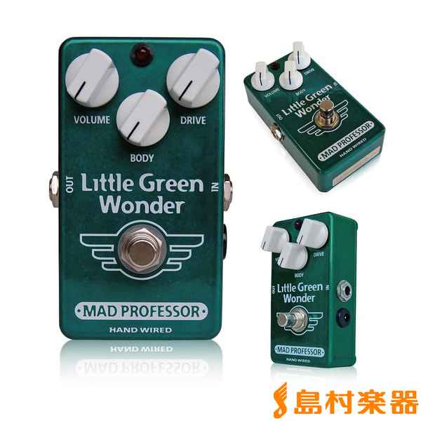 Mad Professor Little Green Wonder コンパクトエフェクター 【オーバードライブ】 【マッドプロフェッサー】