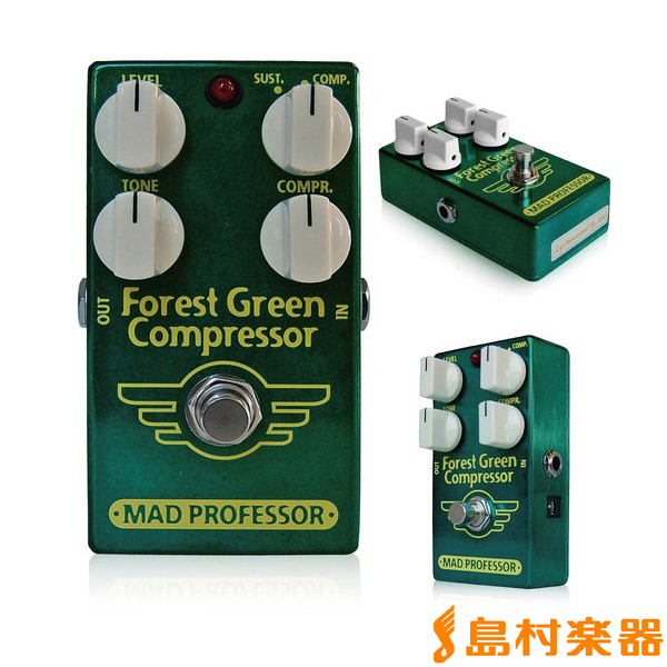 Mad Professor New Forest Green Compressor コンパクトエフェクター 【コンプレッサー】 【マッドプロフェッサー】