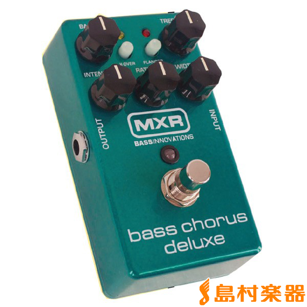 MXR Bass Chorus Deluxe M83 ベースエフェクター 【コーラス】
