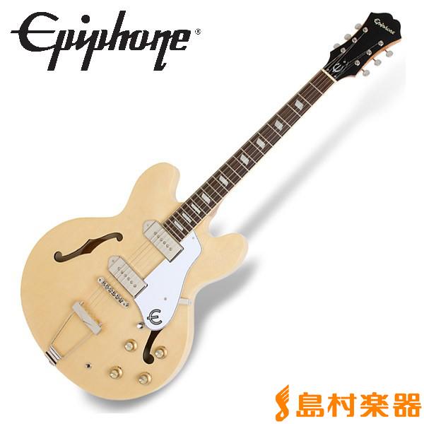 Epiphone Casino Natural カジノ フルアコ エレキギター 【エピフォン】