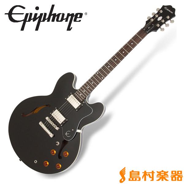 Epiphone Dot Ebony ドット セミアコ エレキギター 【エピフォン】