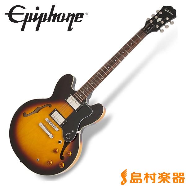 Epiphone Dot Vintage Sunburst ドット セミアコ エレキギター 【エピフォン】