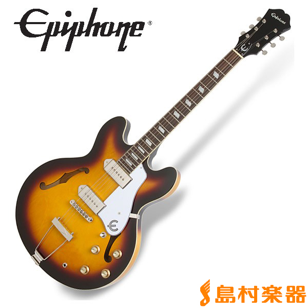 Epiphone Casino Vintage Sunburst カジノ フルアコ エレキギター 【エピフォン】