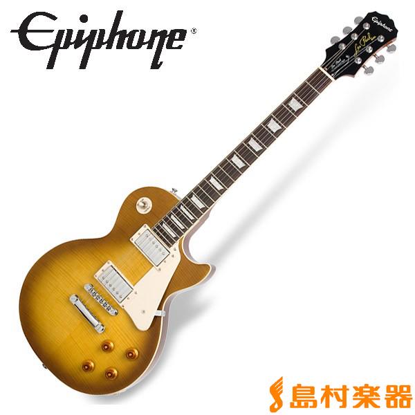 Epiphone Les Paul Standard PlusTop PRO Honey Burst レスポール スタンダード エレキギター 【エピフォン】
