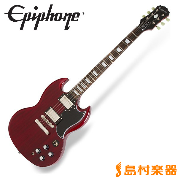 Epiphone G-400 Pro Cherry SG エレキギター 【エピフォン】