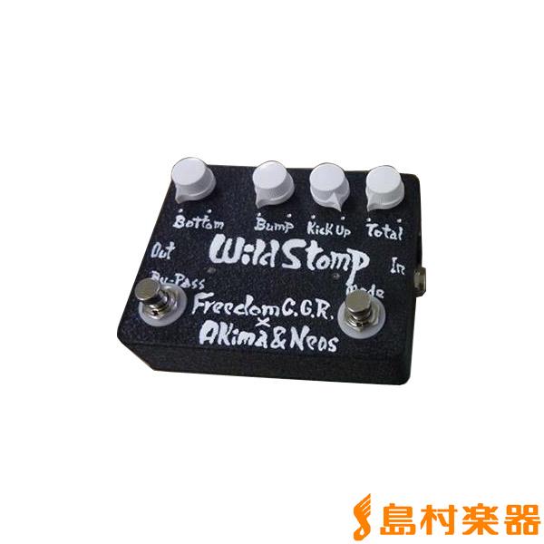Freedom Custom Guitar Research Wild Stomp BLK ベースプリアンプ 【フリーダム】
