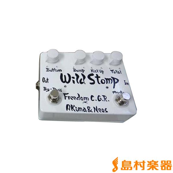 Freedom Custom Guitar Research Wild Stomp WH ベースプリアンプ 【フリーダム】