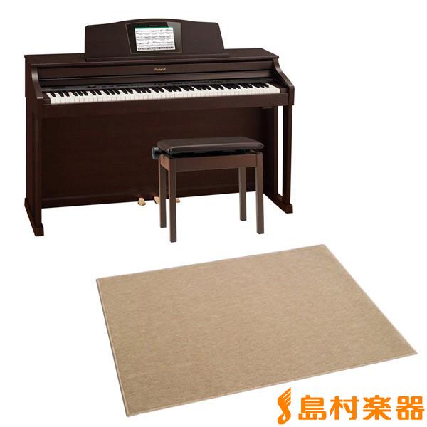 Roland HPi-50e RWS 電子ピアノ 88鍵盤 カーペット(大)セット 【ローランド HPi50e RWS】【配送設置無料・代引き払い不可】【別売り延長保証対応プラン:C】