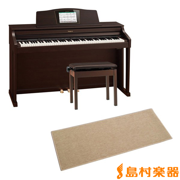 Roland HPi-50e RWS 電子ピアノ 88鍵盤 カーペット(小)セット 【ローランド HPi50e RWS】【配送設置無料・代引き払い不可】【別売り延長保証対応プラン:C】