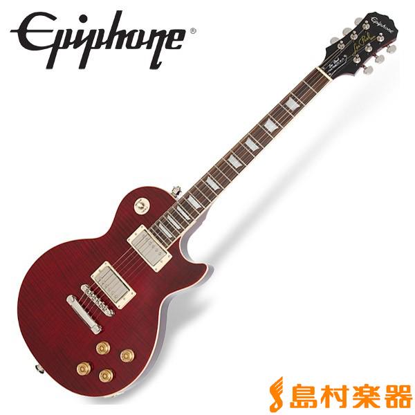 Epiphone Les Paul Tribute Plus Outfit Black Cherry レスポール トリビュート エレキギター 【エピフォン】