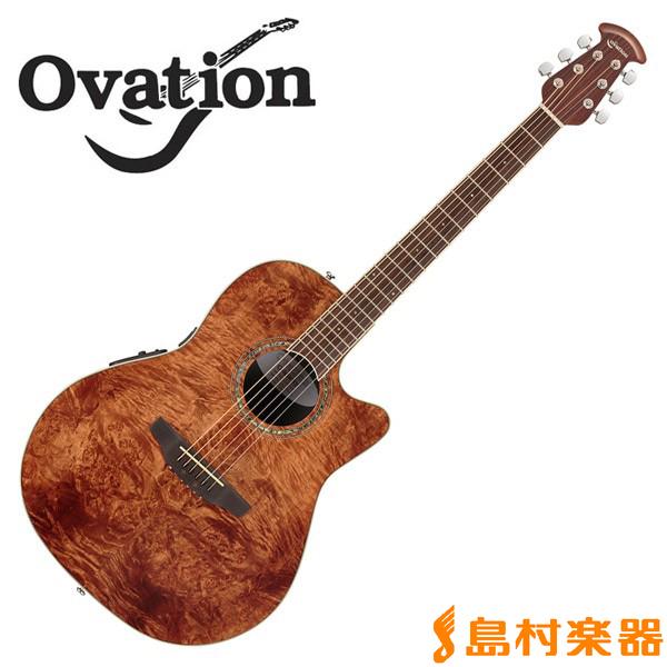 Ovation Celebrity CS24P Natmeg Burled Maple Mid Depth エレアコギター 【オベーション セレブリティ】