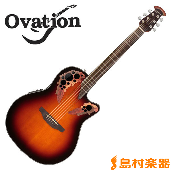 Ovation Celebrity CE44 1 Sunburst Mid Depth エレアコギター 【オベーション セレブリティ】