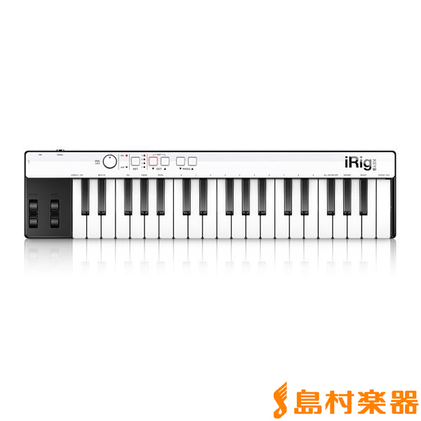 IK Multimedia USB MIDIキーボード 37鍵盤 iRig KEYS with Lightning 【IKマルチメディア】【国内正規品】