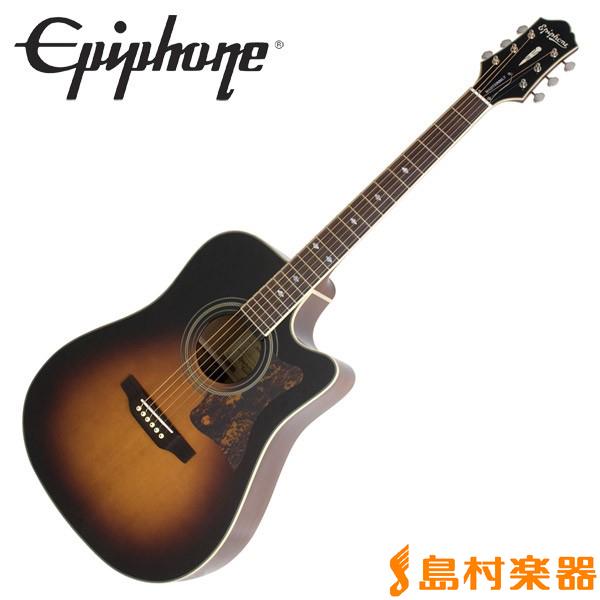 Epiphone Masterbilt DR-500MCE Vintage Sunburst エレアコギター 【エピフォン】