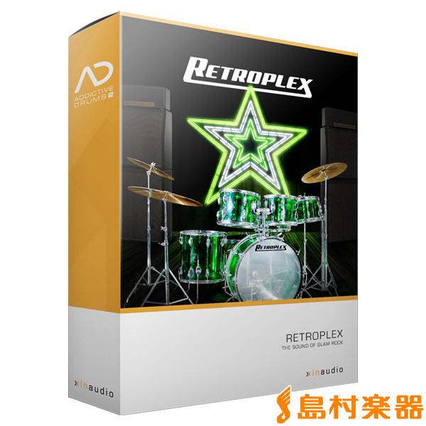 XLN Audio AddictiveDrums 2 ( AD2 ) Retroplex ADpak プラグインソフト ドラム音源 【XLNオーディオ】【国内正規品】