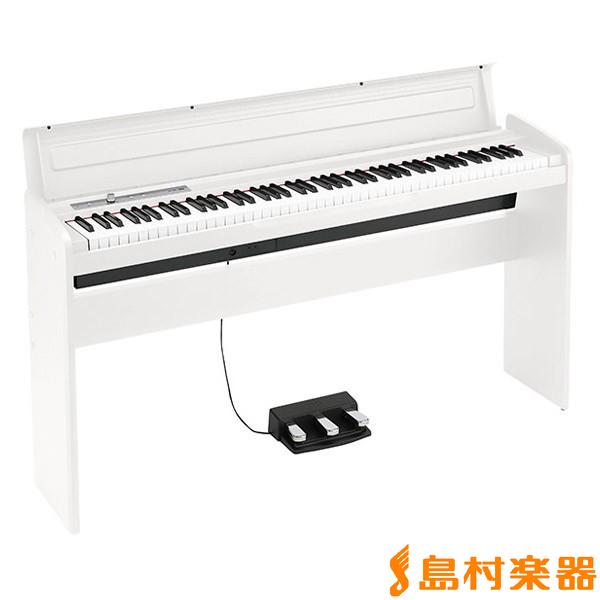 KORG LP-180 ホワイト 電子ピアノ 88鍵盤 【コルグ LP180】【別売り延長保証対応プラン:E】