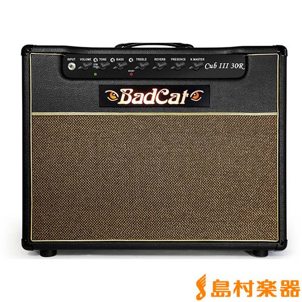 BadCat Cub III 30R ギターアンプ 30W 【リバーブ搭載】 【バッドキャット】【在庫限りの特別価格】