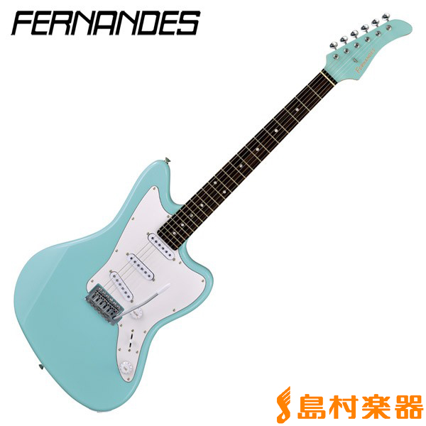 FERNANDES JG-STANDARD 3S SONIC BLUE エレキギター 【フェルナンデス JGSTANDARD3S】