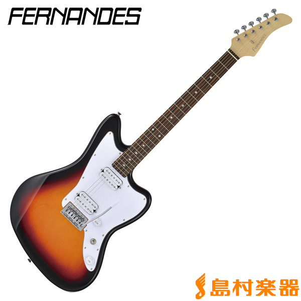 FERNANDES JG-STANDARD 2H 3-TONE SUNBURST エレキギター 【フェルナンデス JGSTANDARD2H】