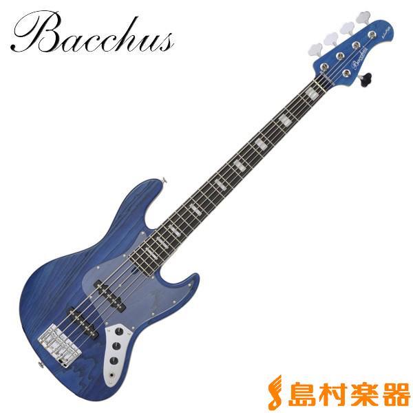 Bacchus WOODLINE DX5/E BLUO ジャズベース ハンドメイドシリーズ 【5弦】 【バッカス WOODLINE DX5E】