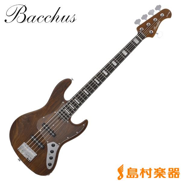 Bacchus WOODLINE DX5-AC/E BRO ジャズベース ハンドメイドシリーズ 【5弦】 【バッカス WOODLINE DX5ACE】
