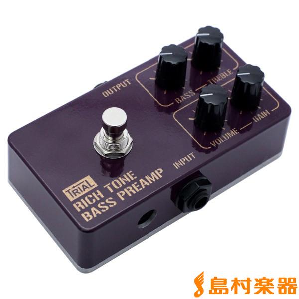TRIAL Rich Tone Bass Preamp ベースプリアンプ 【トライアル】