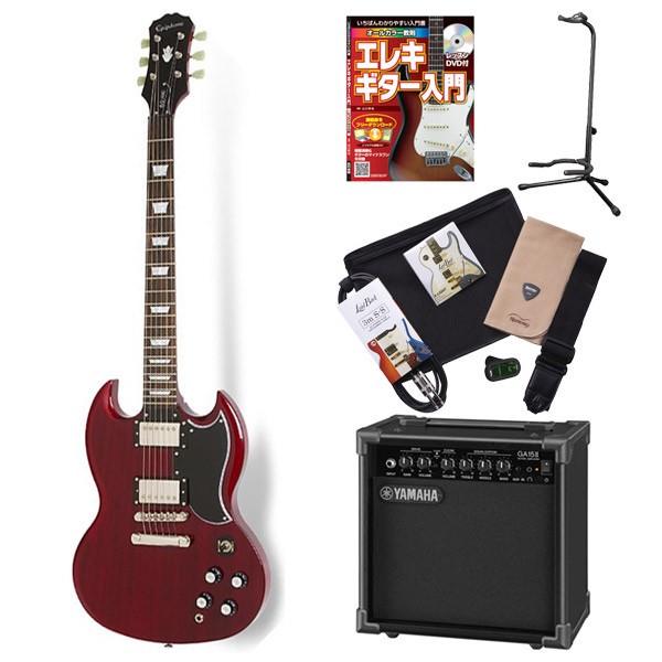 Epiphone G-400 Pro CH エレキギター 初心者 セット SG ヤマハアンプ 入門セット 【エピフォン】