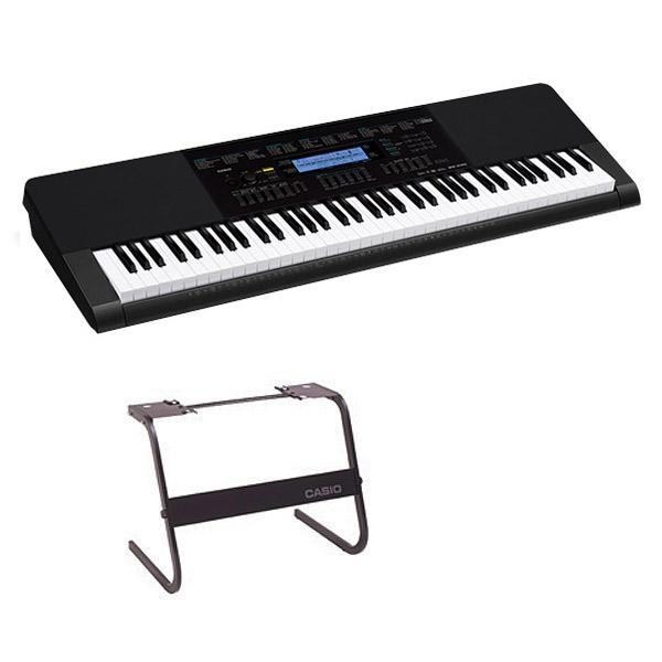 キーボード 電子ピアノ CASIO WK-245 スタンドセット 76鍵盤 【カシオ WK245】 楽器
