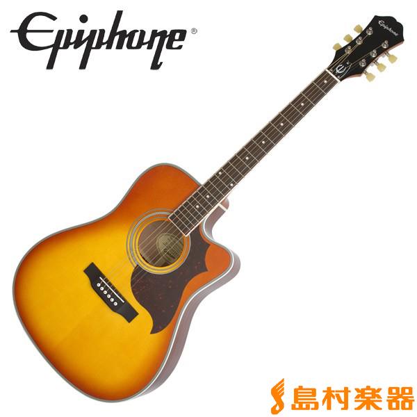 Epiphone FT-350SCE Vintage Brown エレアコギター Min-ETune搭載 【エピフォン FT350SCE】