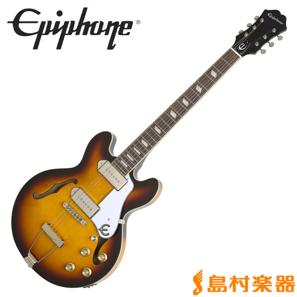 Epiphone Casino Coupe Vintage Sunburst カジノクーペ フルアコ エレキギター 【エピフォン】