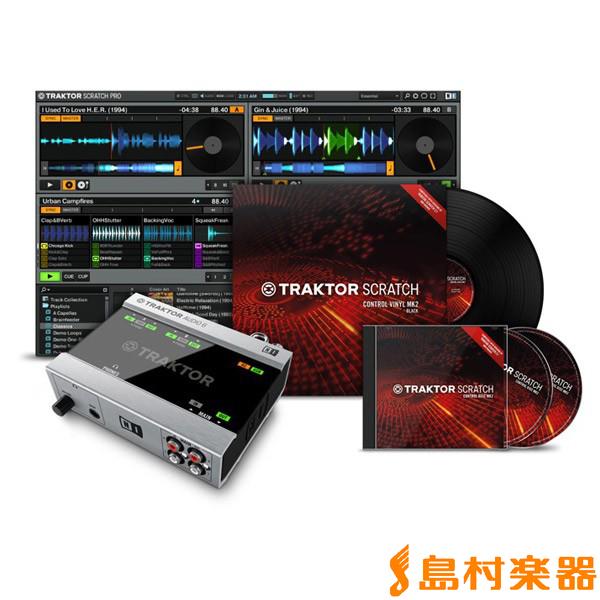 Native Instruments(NI) TRAKTOR Scratch A6 デジタルDJシステム 【ネイティブインストゥルメンツ】【国内正規品】