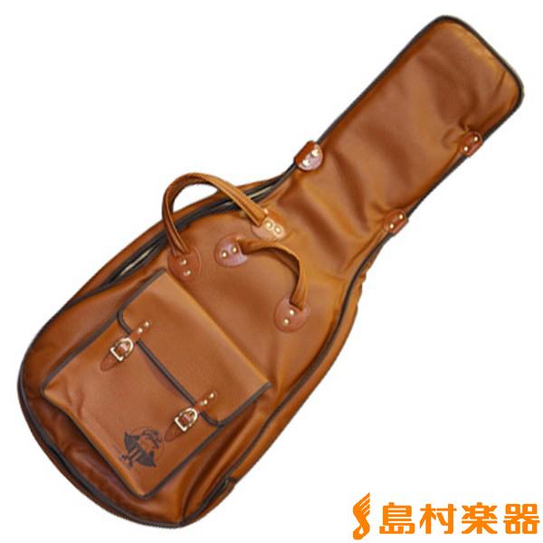 Gig Bag SZ-W BROWN ソフトケース アコースティックギター(ウェスタン・ドレッドノート用) 【ギグバック SZW】, ANSHINDO(時計小物洋服) e0af0a0b