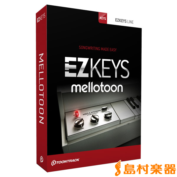 TOONTRACK EZ KEYS - MELLOTOON メロトロン音源 プラグインソフト 【トゥーントラック】【国内正規品】