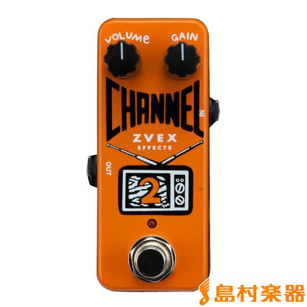 Z.VEX CHANNEL2 エフェクター ブースター 【Zベックス】