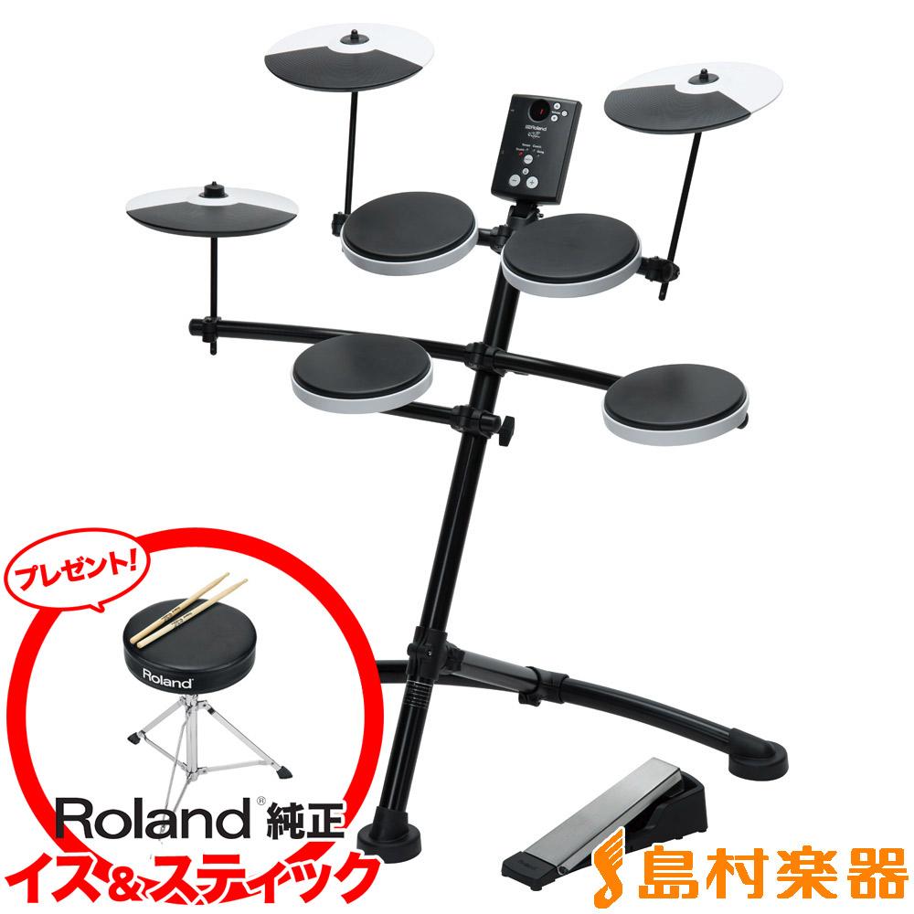 【3000円キャッシュバックキャンペーン中♪ 12/31まで】Roland TD-1K 電子ドラムセット Vドラム V-Drums Kit 【ローランド TD1K】