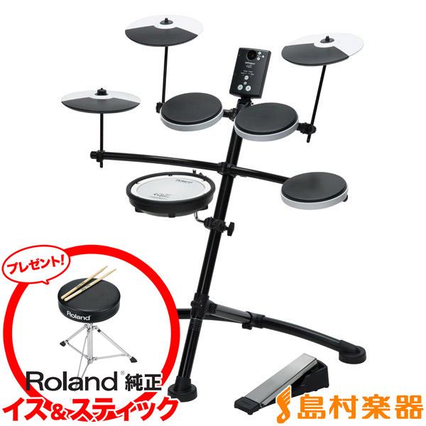 【3000円キャッシュバックキャンペーン中♪ 12/31まで】Roland TD-1KV 電子ドラムセット Vドラム V-Drums Kit 【ローランド TD1KV】