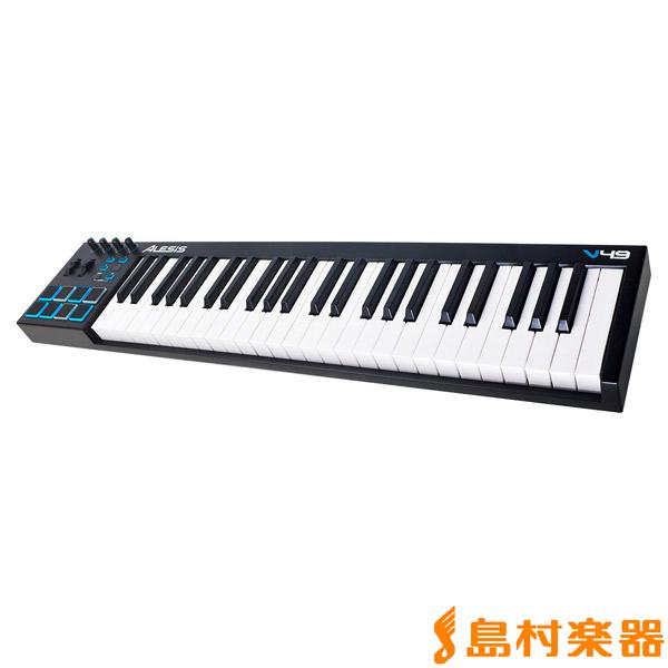 ALESIS V49 USB MIDI キーボード コントローラー 49鍵盤 【アレシス】