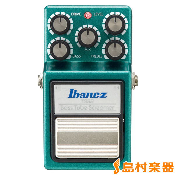 Ibanez TS9B Bass Tubescreamer オーバードライブ ベースエフェクター 【アイバニーズ】