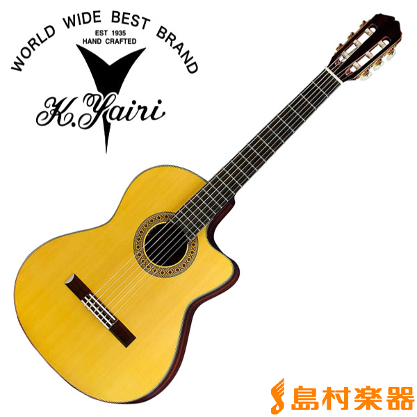 K.Yairi CE-3 NS エレガットギター ナイロンエレクトリックシリーズ 【Kヤイリ CE-3】