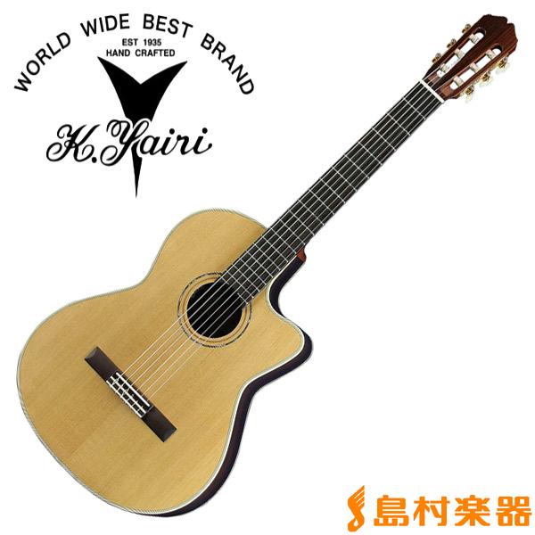 K.Yairi CE-62 N エレガットギター ナイロンエレクトリックシリーズ 【Kヤイリ CE-62】