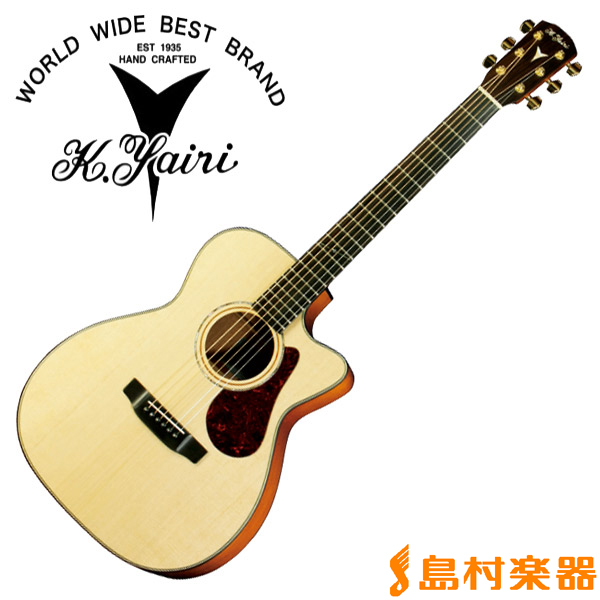 K.Yairi YFA-90CW N アコースティックギター【フォークギター】 【Kヤイリ YFA-90CW】