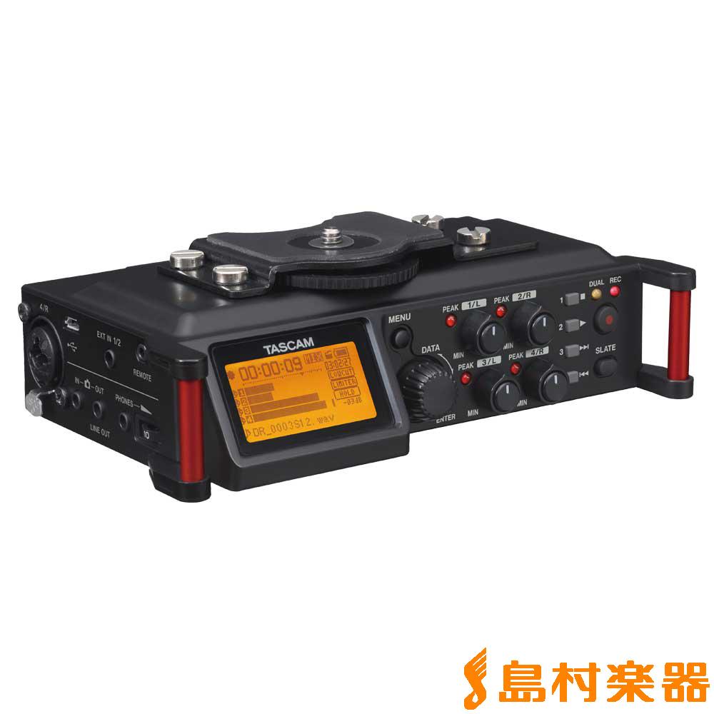 TASCAM DR-70D カメラ用リニアPCMレコーダー 【タスカム DR70D】