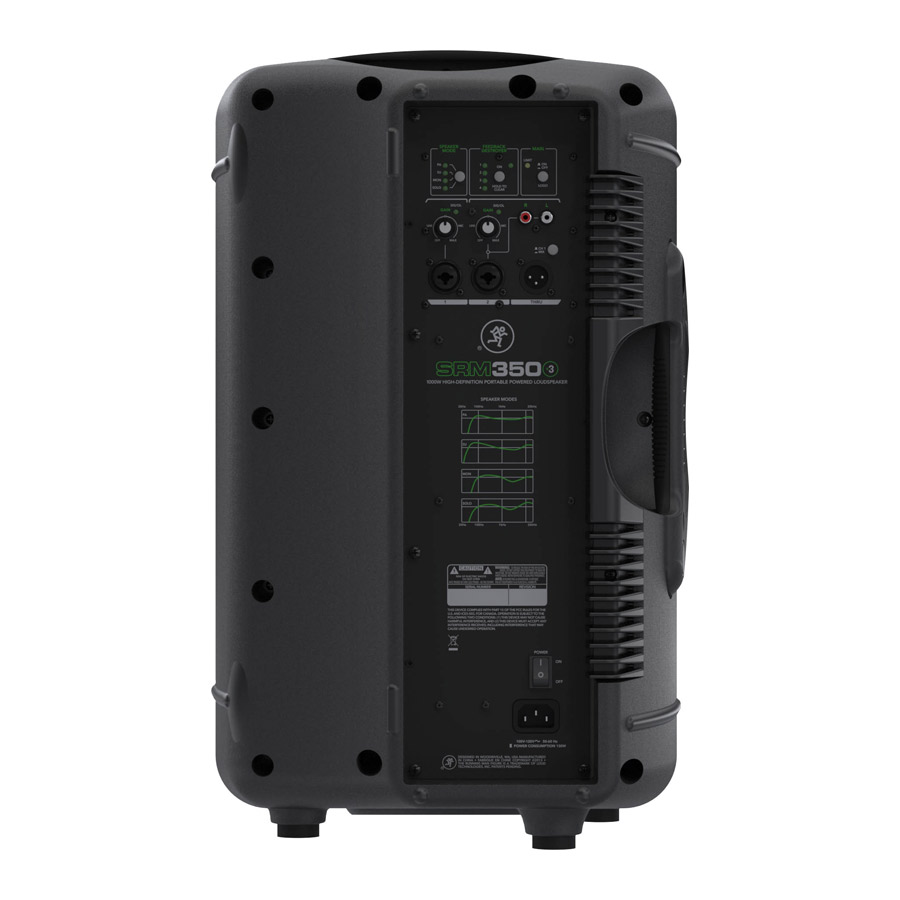 MACKIE SRM350V3 パワードラウド スピーカー 10インチ