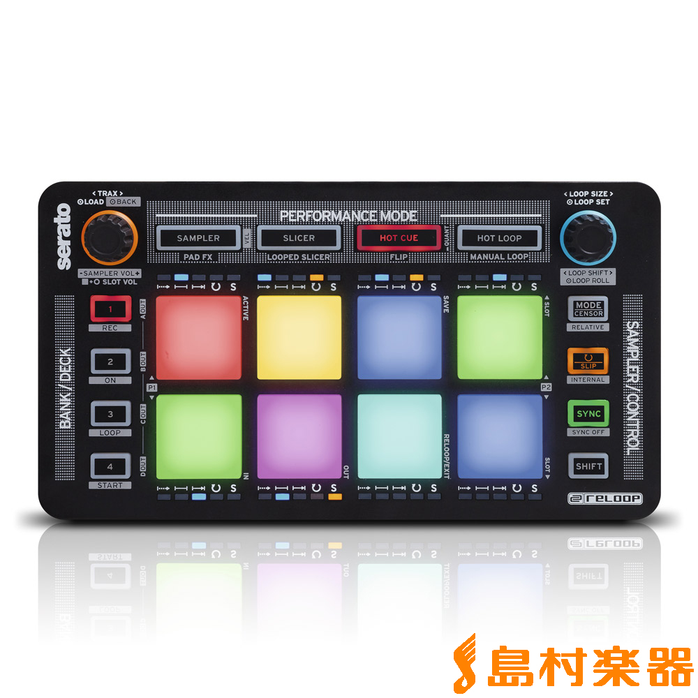 Reloop NEON 通常版 USB/MIDI DJコントローラー 【リループ】