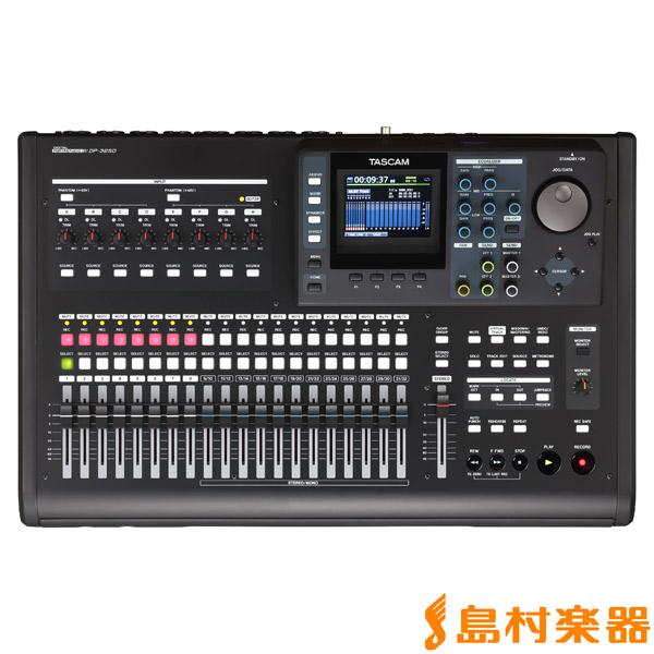 TASCAM DP-32SD 32トラックデジタルレコーダー 【タスカム DP32SD】