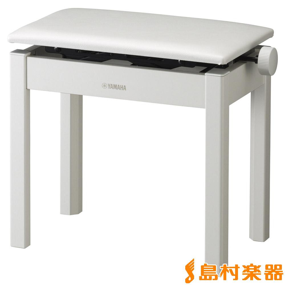 YAMAHA BC-205WH ホワイト ピアノ椅子 (高低自在) 【ヤマハ BC205 椅子/いす/イス 白】