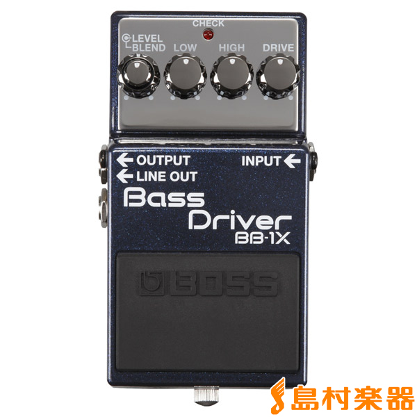 BOSS Bass Driver BB-1X ベースプリアンプ 【ボス BB1X】