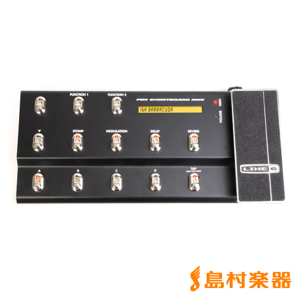 LINE6 FBV SHORTBOARD MKII フットコントローラー