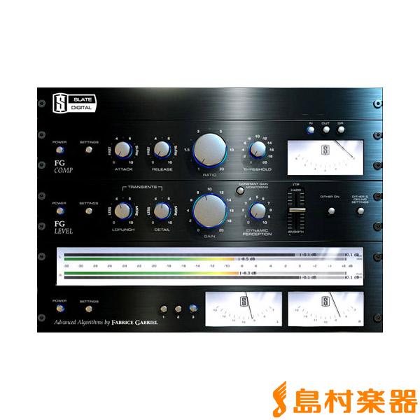 Slate Digital FG-X Virtual Mastering Processor マスタリング用 プラグインソフト 【スレートデジタル FGX】【国内正規品】【ダウンロード版】